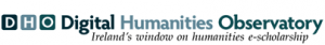 Digital Humanities Observatory banner